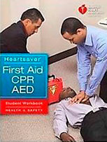 The official book for first aid, CPR, and AED from the American Heart Association